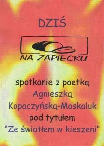 Agnieszka Kopaczyńska-Moskaluk – Ze światłem w kieszeni