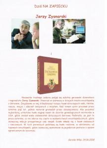 Jerzy Zysnarski – Jak powstaje encyklopedia Gorzowa?