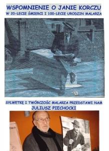 14.12.04 - Juliusz Piechocki – Wspomnienie o Janie Korczu