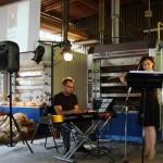Muzycy, Przemek Raminiak - klawisze i Iza Serpina - flet