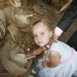Najmłodsza uczestniczka obchodów jubileuszowych, Milena Schroeder