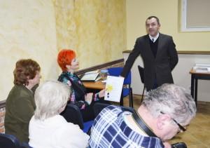 Wojciech Kuska w trakcie spotkania