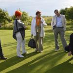 Robert Wożniak mówi o możliwości wytacia piłeczki golfowej
