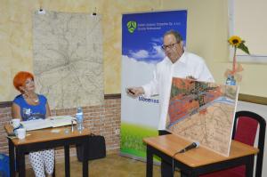 Wawrzyniec Zieliński podczas spotkania