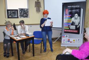 2a. Barbara Schroeder przybliża sylwetkę zapieckowego gościa - Rafała Podrazy