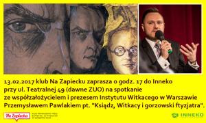 Przemysław Pawlak Zapowiedź I