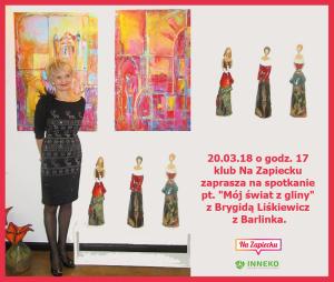 Zapowiedź I Brygida Liśkiewicz 20.03.2018
