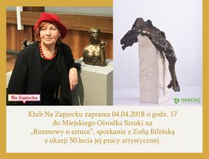 Zapowiedź I Zosi Bilińskiej
