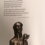 9aWiersz I.K.Szmidta do rzeźby Kassja Zofii Bilińskiej