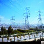 39.Linie elektryczne ciągnące prąd do Tybetu