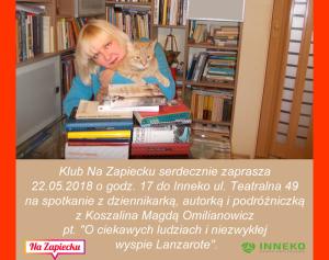 Magda Omilianowicz Zapowiedź I