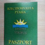 14. Paszport Rzeczpospolitej Ptasiej