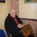 27. Jerzy Gąsiorek przed spotkaniem