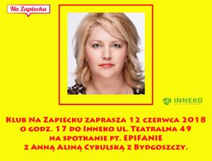Zapowiedź I Anna Cybulska
