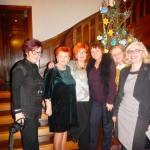 14. Hanna Kaup, Gabriela Wójcicka, Barbara Schroeder, Jadwiga Warzocha, Teresa Mazepa i Irena Rymar