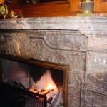 18. Ogień w muzealnym kominku