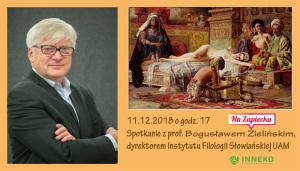 2018.12.11 Zapowiedź I Bogusław Zieliński (1)