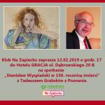 2019.02.12 Tadeusz Grabski Zapowiedź I