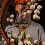 56.Barbara Schroeder z ceramiką Anny Szymanek