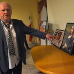 8. Andrzej Haegenbarth omawia powstawanie swoich foto-grafik