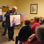 9. Andrzej Haegenbarth ze swoją ulubioną foto-grafiką