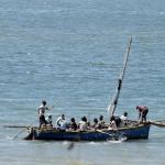 Mozambik - rybacy