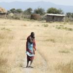 Tanzania - pan Masaj wraca do domu