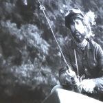 4.Czesław Niemen łowiący ryby